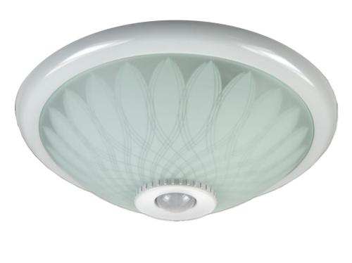 Lampa Plafon 2xe27 Z Czujnikiem Ruchu I Zmierzchu