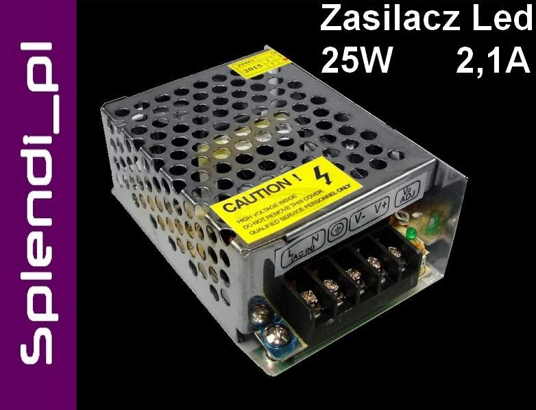 Zasilacz Transformator 25w Taśma Led 12v Dc 8886 Sklep Light Perfect Pl Największy Sklep Z Oświetleniem W Polsce